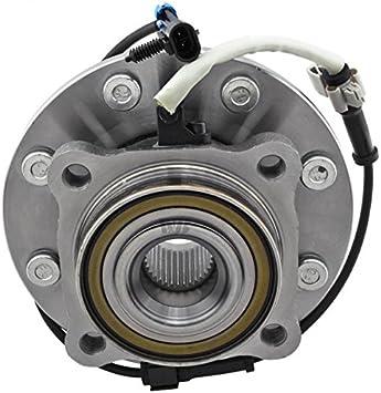 WJB WA515058HD Heavy Duty Version Front Wheel Hub Bearing Assembly Cross Timken SP580310 Moog 515058 SKF BR930416 1 Pack