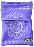 Sprigs Unisex Banjees 2 Pocket Wrist Wallet for Travel, Running, Hiking, Purple Batik, One Size Fits Most