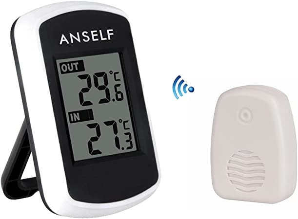 WIRELESS IndoorOutdoor Thermometer