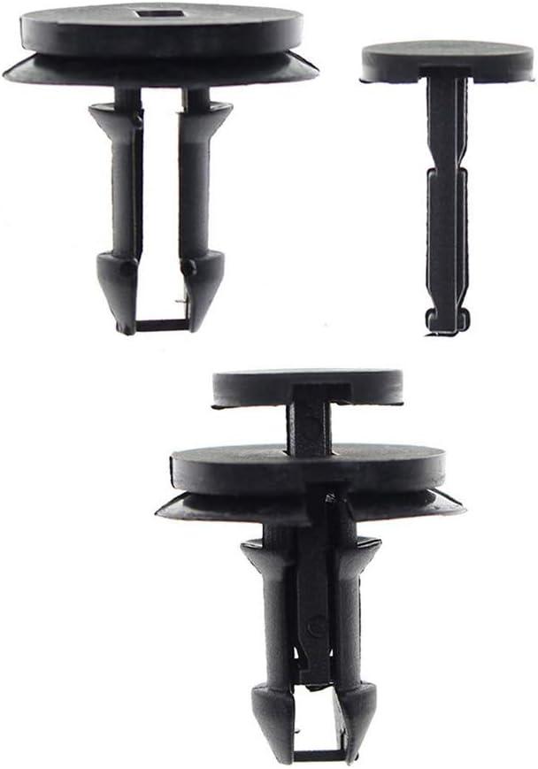 30pcs push-type #15733970 fender retainer nylon black fastener car clips for GMC