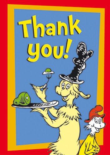 Eureka Dr Seuss Green Eggs And Ham Thank You Teacher Cards 36 Mailable Postcards