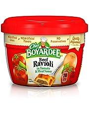 Chef Boyardee Beef in Tomato & Meat Sauce Ravioli, 7.5 Oz. (Pack of 12)