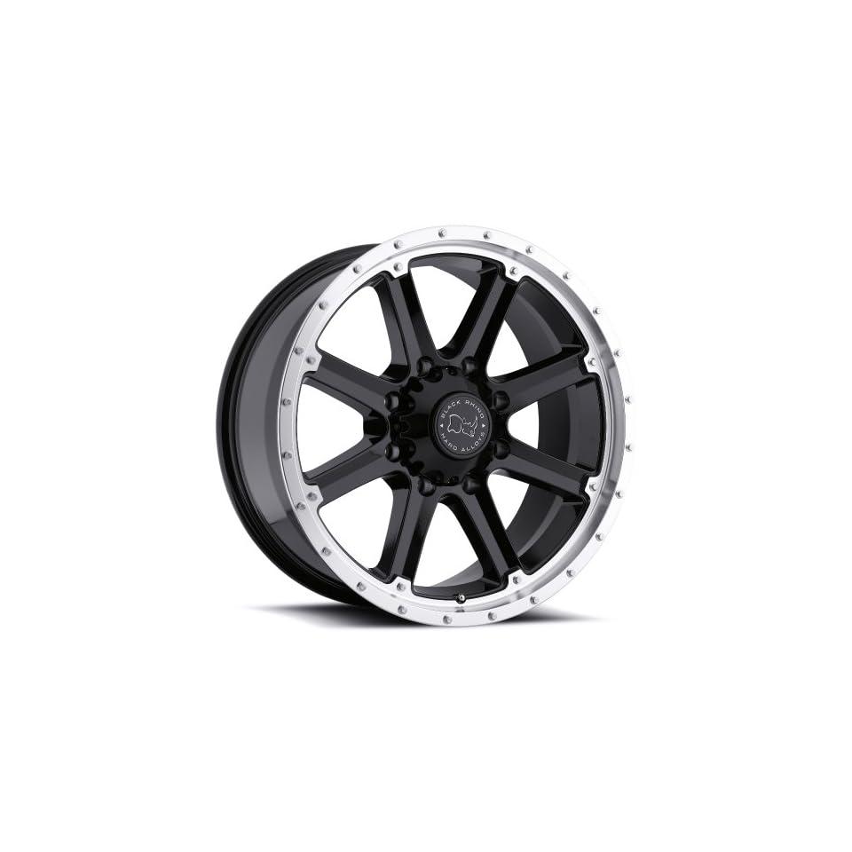 Black Rhino MOAB Black Wheel (17x9/6x139.7mm ,+12mm offset)