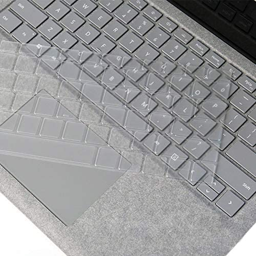 Laptop TPU Waterproof Dustproof Transparent Keyboard Protective Film for Microsoft Surface Go 10 inch Transparent