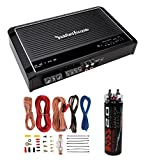 New Rockford Fosgate R150X2 2 Channel Amp Car Amplifier + Wiring Kit + Capacitor