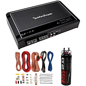 rockford fosgate p500 2 wiring schematics amazon.com: new rockford fosgate r150x2 2 channel amp car ...