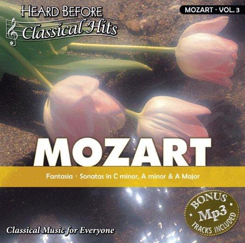 Price comparison product image Mozart [vol. 3]: Fantasia, Sonata in C-minor, A minor, and A Major