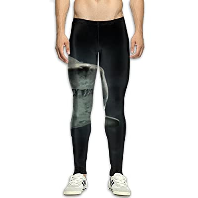 MADSDKFULA Cool Shark Men/Youth GYM Tight Trousers Workout Sport Long Pants