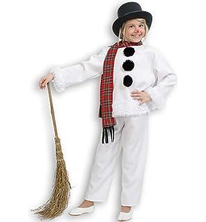 Gurimotex 20055 - Disfraz de muñeco de nieve (2 piezas y bufanda ce4b4e2299c