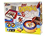 Grafix 2 In 1 Doodle And Spin Swirling Paint Station Childrens Creative Art Xmas Toy