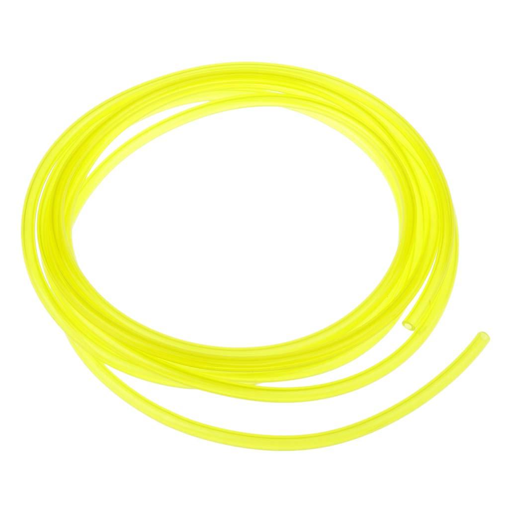 B Blesiya 10 Pies Manguera de L/ínea de Combustible Tuber/ía de Gasolina para Motosierra 3 mm x 6 mm