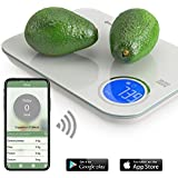 NutriTotal Food Scale and Portions Nutritional Facts with bluetooth app. Great for keto and paleo.