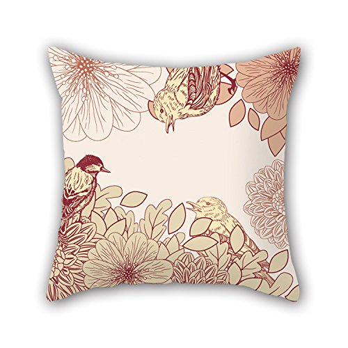 NICEPLW The Flower Cushion Covers Of ,20 X 20 Inches / 50 By 50 Cm Decoration,gift For Dining Room,lounge,saloon,boy Friend,divan,gf (both Sides)