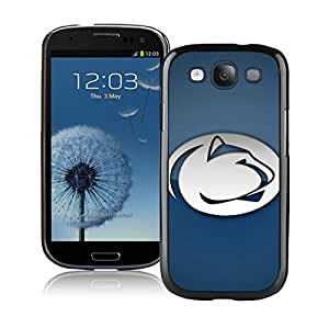 Samsung Galaxy S3 I9300 Case ,Unique And Fashionable Designed Case With Ncaa Big Ten Conference Football Penn State Nittany Lions 6 Black For Samsung Galaxy S3 I9300 Phone Case