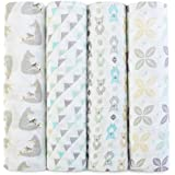 aden + anais Classic Muslin Swaddles 4 Pack - Magical Tail