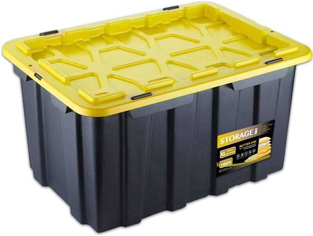 RANRANJJ Almacenamiento de Mano, de plástico Caja de Almacenamiento de Box Car Almacén portante Caja de Herramientas Caja del Tronco de Almacenamiento: Amazon.es: Hogar