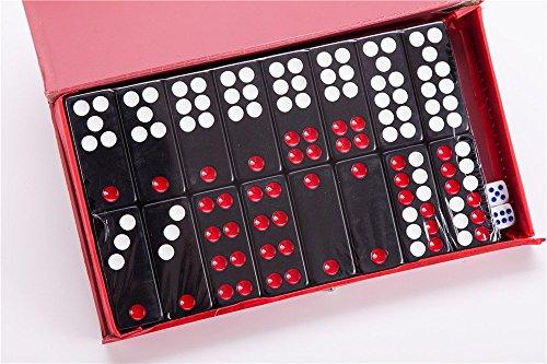 Chinese Pai Gow Paigow Tiles Game Casino Fun #20 Black