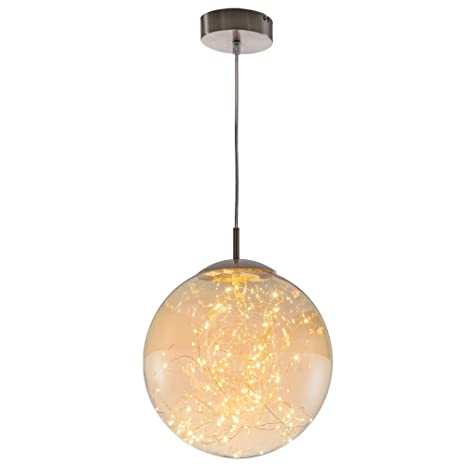 techo colgante focos LED comedor bola de cristal de la ...