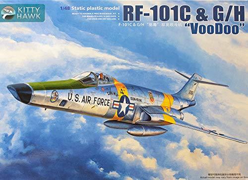 Kitty Hawk KTH80116 1:48 RF-101C RF-101G RF-101H Voodoo [Model Building ()