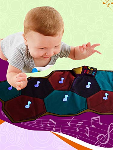 Dance mat children's game blanket sports hot dance children crawling mat music dance blanket by Shwk (Image #5)