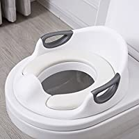 Potty Training Toilet Toilet Seat for Potty Training Toilet Training Seat Potty Training Seat Baby Toilet Trainer Seat Training Toilet Potty Seat Potty Chair for Kids Toddlers Boys Girls(White)