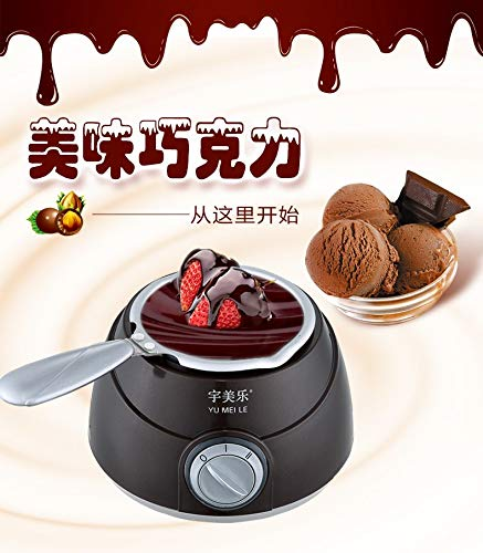 Household electric heating chocolate machine melting machine chocolate melting pot melting furnace baking tool melting pot mould