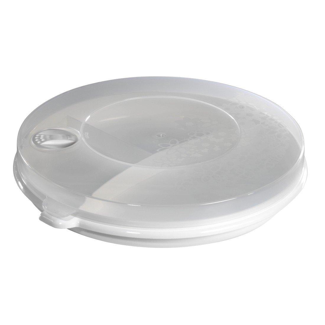 Xavax Piatto per microonde con coperchio