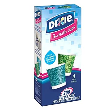 Dixie Cups  Variety Designs 3 oz  Blue And Green  200 ea. Amazon com  Dixie Cups  Variety Designs 3 oz  Blue And Green  200
