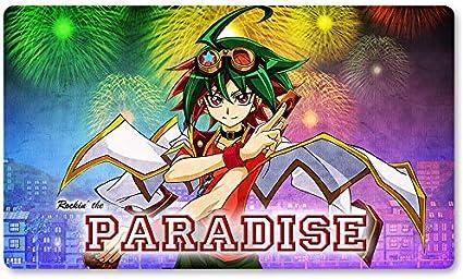 Juego de mesa Yugioh de Rockin The Paradise – Juego de mesa de juego de Yugioh – Alfombrilla