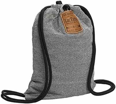 LOCTOTE Flak Sack - The Original Theft-Resistant Drawstring Backpack | Anti-theft | Theft-Proof Travel Backpack | Lockable | Slash-Resistant