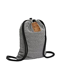 Loctote 21228 Theft Resistant Drawstring Bag - Travel Backpack, Steel Grey, International carry-on