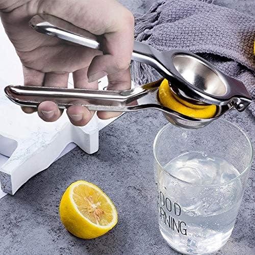 XUYI Exprimidor de Frutas cítricas de Acero Inoxidable, exprimidor Manual de Mano de Naranja, Herramientas de Cocina, exprimidor de limón, exprimidor de Frutas, 1 Pieza