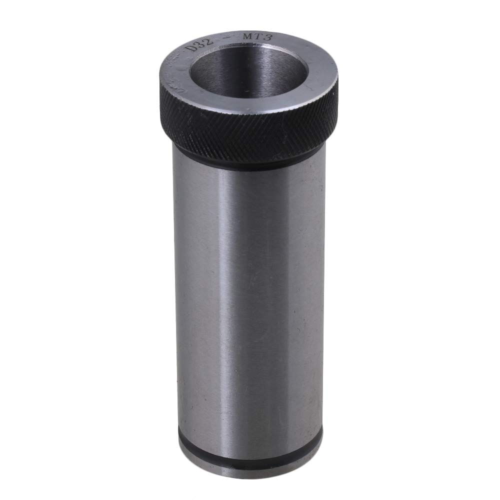 40 Chrome Steel D32 Hole Dia MTA3 Adapter Holder Connector Drill Driver Tool Sleeve Reducing Drill for Lathe Milling by NICELEC industrial