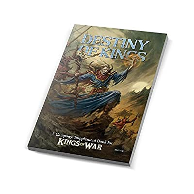 Mantic Games Mgkw09 The Destiny Of Kings Of War Campaign Supplement Book by Mantic Games