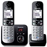 Panasonic KX-TG6822EB Twin DECT Cordless Telephone Set with Answer Machin