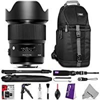 Sigma 20mm f/1.4 DG HSM Art Lens for Nikon F DSLR Cameras with Essential Photo and Travel Bundle Noticeable Review Image