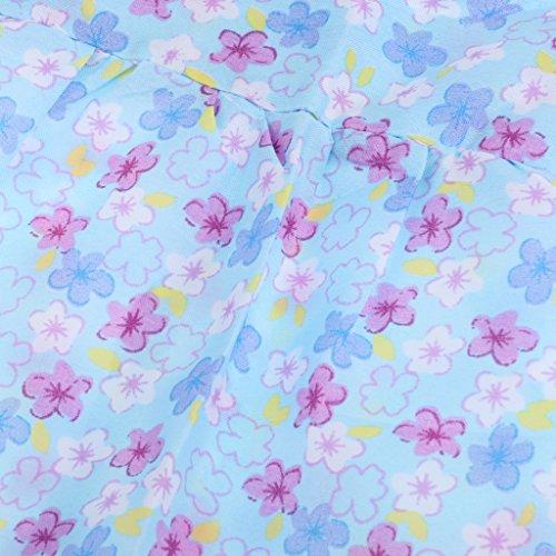 DE Manches Poupe Robe Pouces 18 Vtements Sharplace sans Poupe Chapeau pour de Bleu Bleu fnpwgBqR