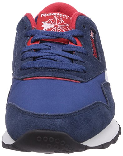 Basses Homme batik red Rush black faux Classic Indigo Bleu Reebok white Nylon Sneakers Blue Bq418w8It