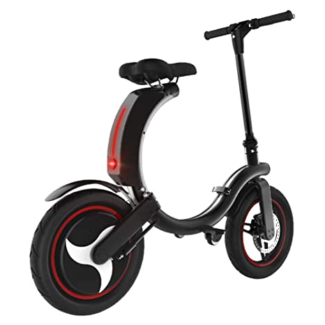 GREATY E-Scooter, Pequeño Plegable App Bluetooth Patinete ...
