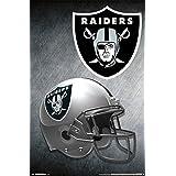 Trends International RP14167 Oakland Raiders Helmet Wall Poster