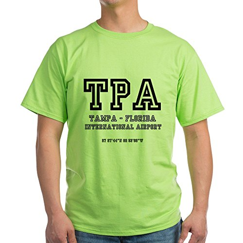 CafePress Airport Codes - TPA - Tampa, Florida 100% Cotton ()