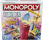 Monopoly Builder Board Game, Strategy Game, Family Game, Games for Kids, Fun Game to Play, Family Board Games,