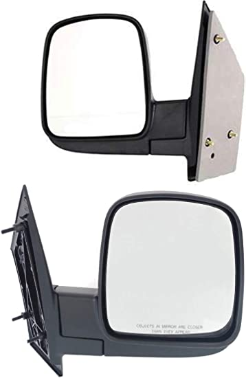 For 2003-2007 Chevrolet Express Gmc Savana Power Heated Side Mirror Driver Side