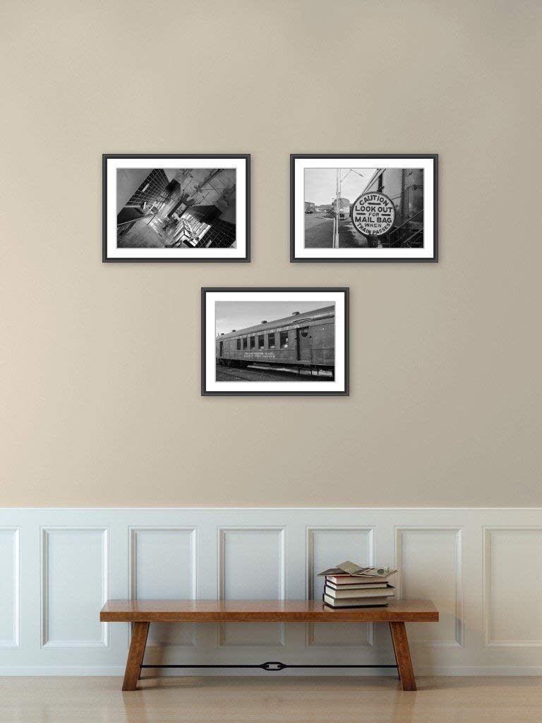 Industrial Art, Locomotive Photography, Train Photography, Post Office Railway, United States Post Office, Wall Decor, Fine Art, Home Decor, Man Cave, 5x7, 8x10