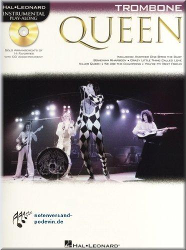 Queen - Vocal de Play Along trombón - Trombón Partituras: Amazon.es: Instrumentos musicales