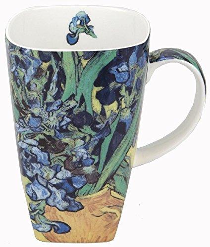 McIntosh MCVIGM Van Gogh Irises Grande Mug, Multicolor