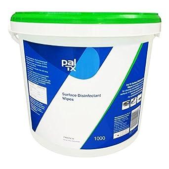 Pal TX - Toallitas de limpieza desinfectantes sin alcohol, cubo 1000 toallitas: Amazon.es: Amazon.es