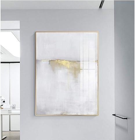 Dayanzai Kdasfh Abstract White Light Gold Canvas Painting Poster Prints Minimalista Stile Wall Art Immagini Per Soggiorno Camera Da Letto Aisle Studio No Frame 60x80kdasfh Amazon De Kuche Haushalt