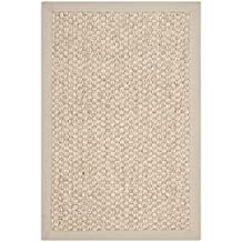 Safavieh Natural Fiber Collection NF525C Marble Sisal Area Rug, 2 feet by 3 feet (2' x 3')