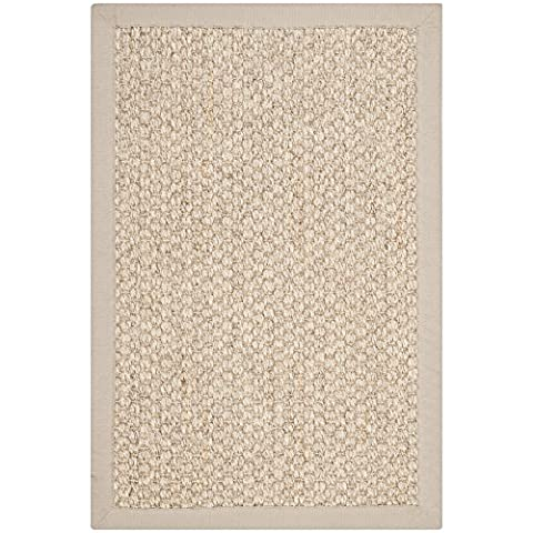 Safavieh Natural Fiber Collection NF525C Marble Sisal Area Rug (2' x 3') (Area Rugs Natural Fiber)